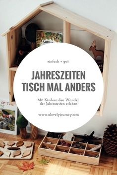 Jahreszeitentisch einfach selbst gemacht Experience the changing seasons with children. Inspirations for a simple DIY season table to Waldorf. Infant Activities, Family Activities, Parents Room, Nature Table, Diy Crafts For Kids, Kids Diy, Kids And Parenting, Family Room, Easy Diy