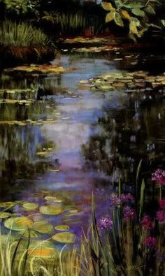 Peinture : Claude Monet I'm not a fan of impretionkst art and Monet is one of my least favorite artist but this piece is pretty. Monet Paintings, Impressionist Paintings, Paintings I Love, Beautiful Paintings, Landscape Paintings, Claude Monet, Renoir, Love Art, Painting Inspiration
