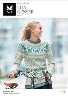 Kvalitet fra naturen siden 1879. Vi ønsker å inspirere deg – både med flott design og fantastiske garnkvaliteter. Dale Garn er din garanti for kvalitet og faglig kompetanse. Wedding Sweater, Fair Isle Pattern, Fair Isle Knitting, Sweater Design, Knitted Bags, Double Knitting, Knitwear, Knitting Patterns, Knit Crochet