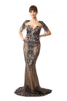 Rochie lunga de seara Lille Couture cu paiete Sena, grena Couture, Roxy, Mermaid, Formal Dresses, Fashion, Dresses For Formal, Moda, Formal Gowns, Fashion Styles