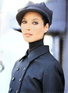 Christy Turlington for Vogue US August 1993 | photography: Arthur Elgort | styling: Carlyne Cerf de Dudzeele