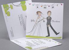 Hochzeitskarten M22 041 D Einladung