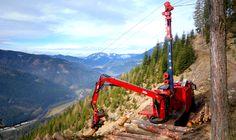 TST 800 4t Gebirgsharvester / Mountain Harvester