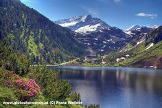 Grünsee Uttendorf - Austrian Alps - Beautiful Lake in the High Alpin Mountains Snowboarding, Skiing, Salzburg, Austria Travel, Alps, Climbing, Mountains, World, Places