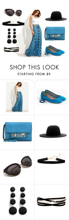 """""""Untitled #114"""" by ghena-alaina ❤ liked on Polyvore featuring J.Crew, Proenza Schouler, Études and Kenneth Jay Lane"""