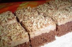 Baking Recipes, Cake Recipes, Dessert Recipes, Czech Desserts, Czech Recipes, Sweets Cake, Healthy Diet Recipes, Christmas Sweets, No Bake Cake