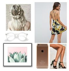 """🌻🌼"" by danifashionblog on Polyvore featuring ASOS and Nasty Gal"