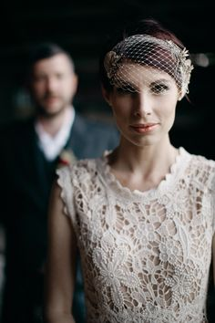 wedding dress by Trelise Cooper // photo by A Couple of Night Owls