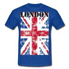 LONDON - GB - UNION JACKT-shirt, vêtements homme, femmes, enfants, accessoires déco  http://shop.spreadshirt.fr/tee4tee/