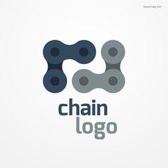 Chain logo, free vector (eps, jpg, pdf)