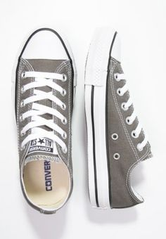 Converse CHUCK TAYLOR ALL STAR - Matalavartiset tennarit - charcoal - Zalando.fi