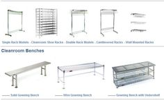 We carry a wide selection of gowning room furniture and clean room gowning equipment, including freestanding gowning and shoe racks, solid and wire benches and other items. Lab Supplies, Shoe Rack, Safety, Tech, Cleaning, Website, Room, Furniture, Shoe Cupboard