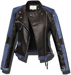 Fashion Mode, Look Fashion, Womens Fashion, Motorcycle Outfit, Motorcycle Jacket, Best Leather Jackets, Harley Davidson, Jeans And Boots, Jackets For Women
