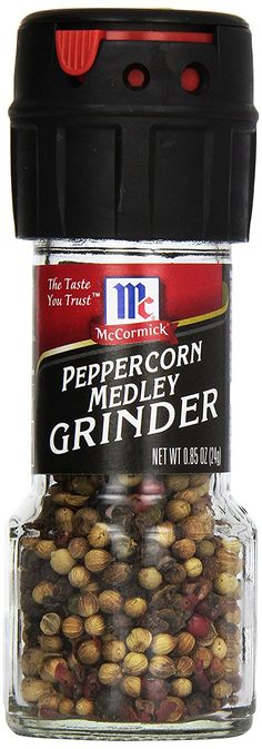 Mccormick Peppercorn Medley Grinder, 0.85-Ounce (Pack of 6) ** More details can be found here : Fresh Groceries