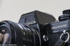 A review of a classic vintage camera from East Germany - the Praktica B100 electronic fitted with a Praktica 28mm f/2.8 wide angle lens