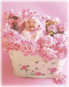 Flower  Baby Anne Geddes