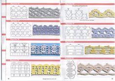 Pontas e entremeios - solange- crochê e tricô - Álbumes web de Picasa