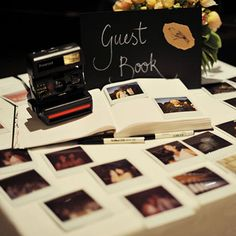 Check out this guest book alternative! Have the best of both worlds good wishes and something that you'll treasure forever. #WeddingPhotos