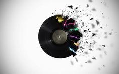 vinyl record tattoo - Google Search