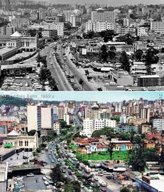Av. Andrés Bello (1950's - 1960's) My Town, South America, City Photo, History, Retro, Photography, Doll, Fabric, Littoral Zone