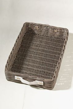 Driftwood Storage Tray from Lands' End