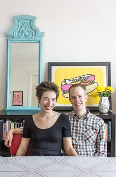 Kate & Chad's Art-Filled Dwelling — House Tour