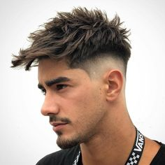 Mens Hairstyles Fade, Cool Mens Haircuts, Classic Hairstyles, Short Fade Haircut, Short Hair Cuts, Short Hair Styles, Hair Clipper Sizes, Side Part Haircut, Gents Hair Style