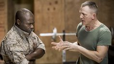 'Othello': Theater Review  Daniel Craig and David Oyelowo star in Tony winner Sam Gold's staging of Shakespeare's 'Othello' set in a modern military barracks also featuring Rachel Brosnahan and Finn Wittrock.  read more