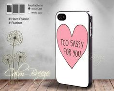 Too Sassy for you love  Print on Hard cover  by SamanthaCalmBreeze, $14.99