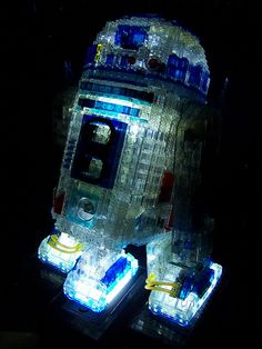 Hologram artoo unit by monsterbrick, via Flickr