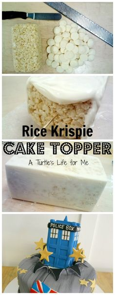 Rice Krispie Cake Topper Tutorial