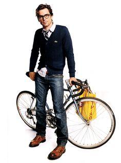 Matt Bomer... love this look