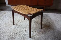 Danish Modern Teak Stool/ Chair/Bench-- Finn Juhl Eames by Kinzco, via Flickr