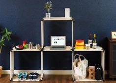 部屋のサイズにぴったりな家具を自分で作ってみようと思っても、工具を揃えたり設計図を書いたりと、初心者にはハードルが高いですよね。それでも自分好みの家具が欲しい! というあなたに、六角レンチ1本だけで大きな棚も机も作れてしまうというパーツをご紹介します。