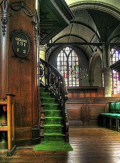 Into the Sint Jan church- Gouda, Holland