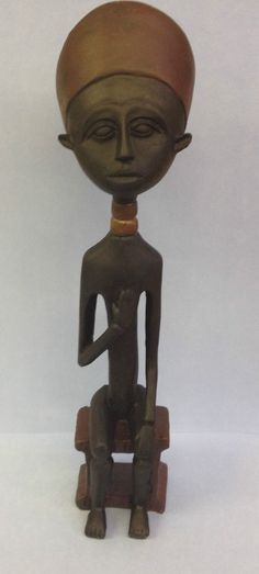 Serene Seated Contemporary African Tribesman Decorative Tribal Ornament 2402 in Collectables, Decorative Ornaments/ Plates, Figurines/ Figures/ Groups | eBay