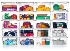 My favorite versatile storage solution: Clear Plastic Shoe Boxes!  Useful for storing light bulbs, batteries, first aid items, toiletries, craft & office supplies, tiny toys, small pantry items (seasoning packets, baking supplies or Keurig K-cups), small tools (nails, hooks, etc.), & off-season shoes to be stored on higher shelves in closets. Use the lid to stack. Without the lid, use as corralling devices for grouping like items on shelves & in deep drawers.