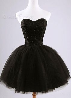 Sweet Strapless Beading Lace-Up Short Homecoming Dress 10937546 - Homecoming Dresses 2014 - Dresswe.Com