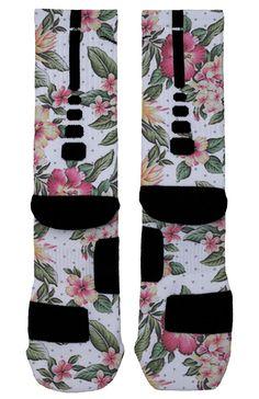 Summer Floral Custom Nike Elites