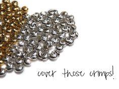 How to Master Crimp Covers | Alonso Sobrino Hnos. Co. & Inc. Druzy Beads and Fabrics