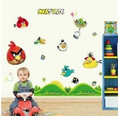 1000 Images About House Boys Bedroom Angry Bird Theme