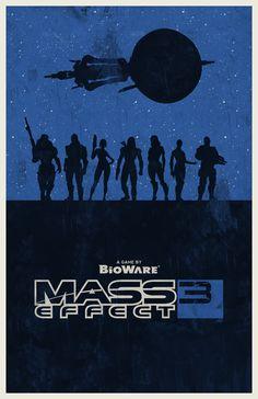 Mass Effect 3 poster by billpyle.deviantart.com on @deviantART