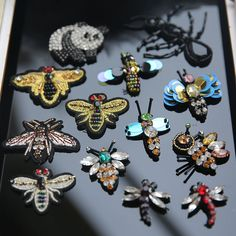 Cheap patches appliques, Buy Quality applique sew directly from China decorative patches Suppliers: 1 PCS Bees sequins Rhinestones bead brooch patches applique sew on beading qpplique clothes shoes bags decoration patch DIY