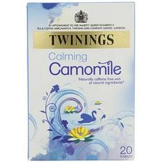 My boyfriend suggested that I should drink camomile tea for my sleeping problem (I have a mild anxiety attack).I wasn't keeeen on herbal teas but.this tea is not bad with Kit Kat. Sleep Tea, Good Sleep, Twinings Tea, Pg Tips, Natural Sleep Aids, Online Supermarket, Herbal Remedies, Herbalism, Tea Cups