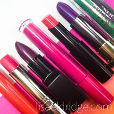 Be Bold - 7 power pout lipsticks. One for each day of the week. Lisa Eldridge, Summer Makeup Looks, Lip Colour, Be Bold, How To Find Out, How To Make, Beauty Review, Make You Feel, Beauty Makeup