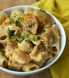 Chicken & Artichokes in Wine Sauce --  might be good with sun-dried tomatoes and capers, too