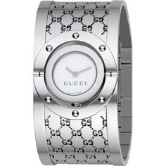 Gucci Twirl Stainless Steel Bracelet Women's Watch