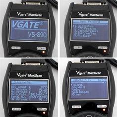 OBD2 Automotive Scanner Maxiscan Vgate VS890 Fault Code Reader EOBD JOBD CAN-BUS Multi-language Scanner for Car Diagnostics | Wish X Car, Daihatsu, Language, Coding, Speech And Language, Language Arts, Programming