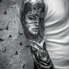 Arm Tattoo by Tattoo Artist Bobby Loveridge
