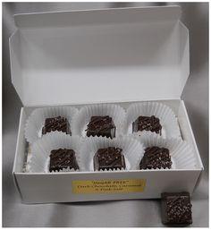Sasquatch Sugar Free Chocolate Caramels (dk/pink)